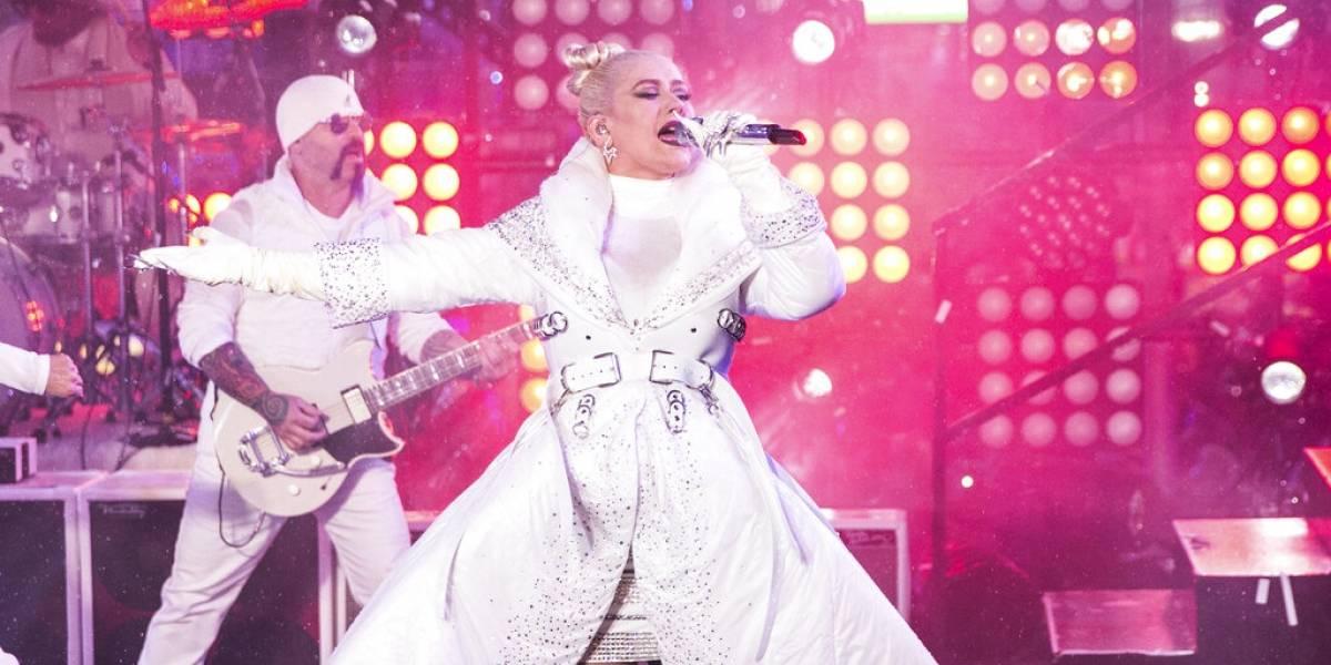 Christina Aguilera lanza en mayo residencia en Las Vegas