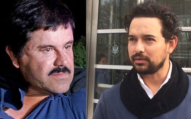 Actor que interpreta a «El Chapo» va a verle a su juicio