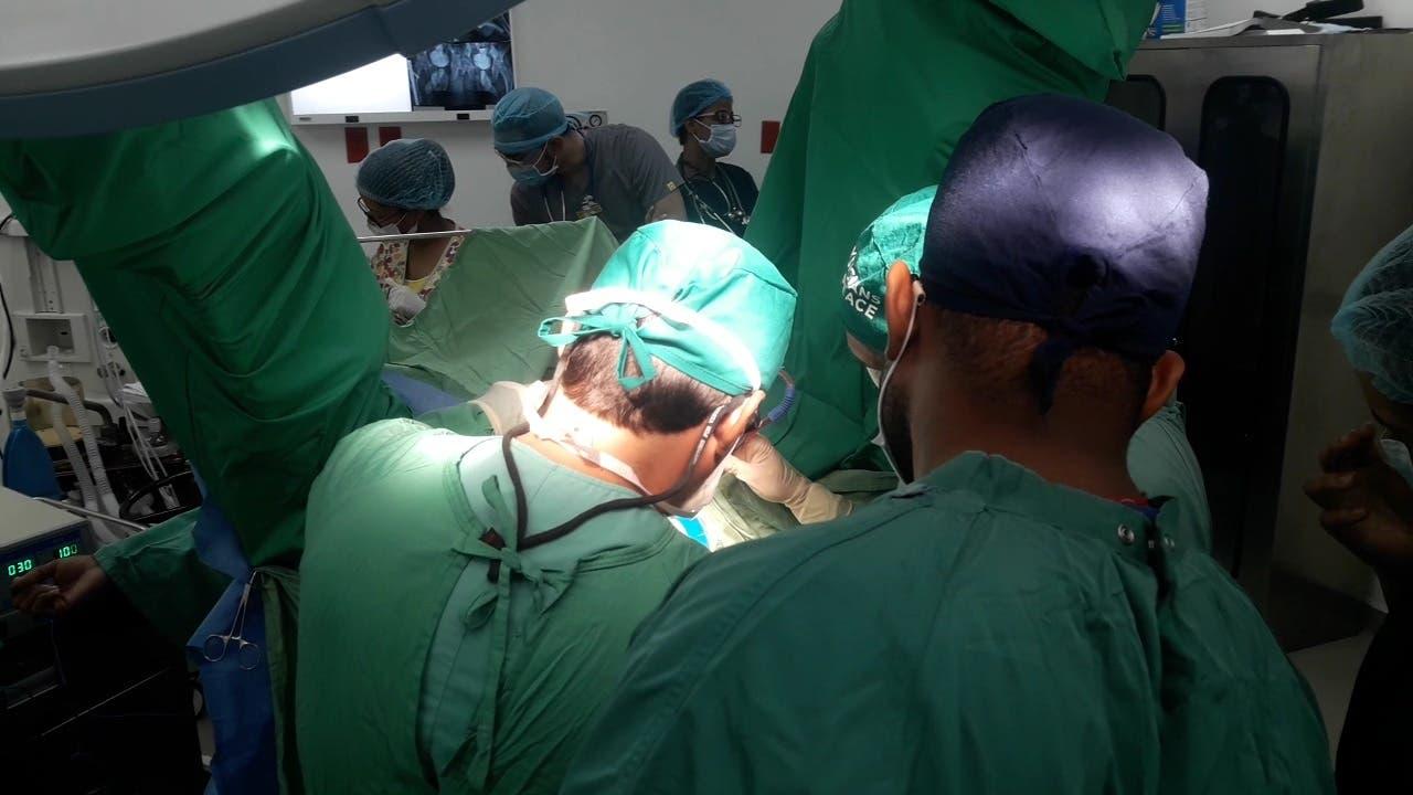 Este domingo inicia evaluación única para la jornada de cirugía en el Moscoso Puello