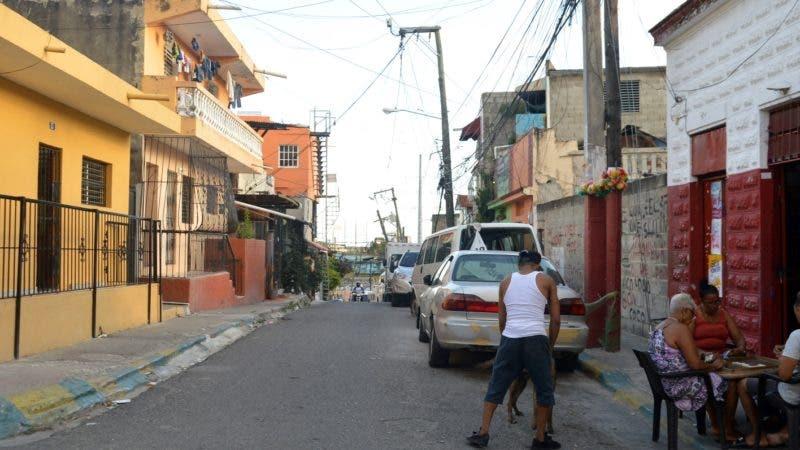 """""""Calle de los Isleños"""", en San Carlos. Hoy/ Napoleón Marte 22/02/2019"""