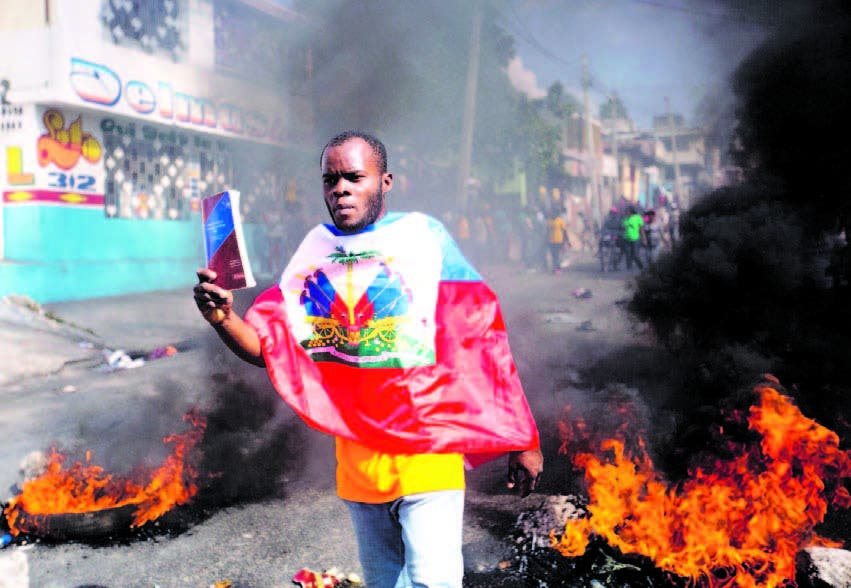 Manifestantes haitianos juran continuar con protestas