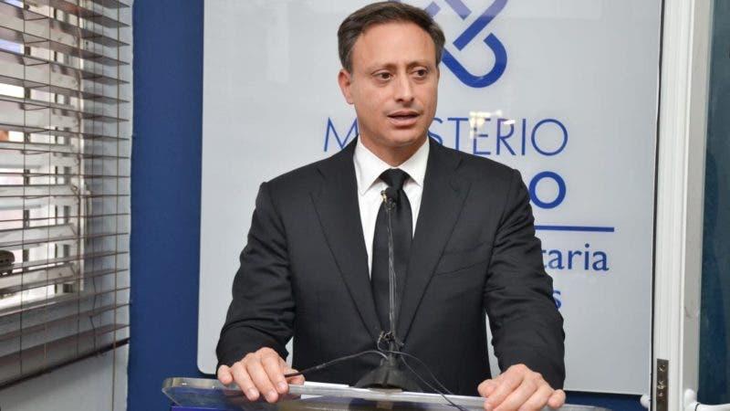 El procurador Jean Alain Rodríguez