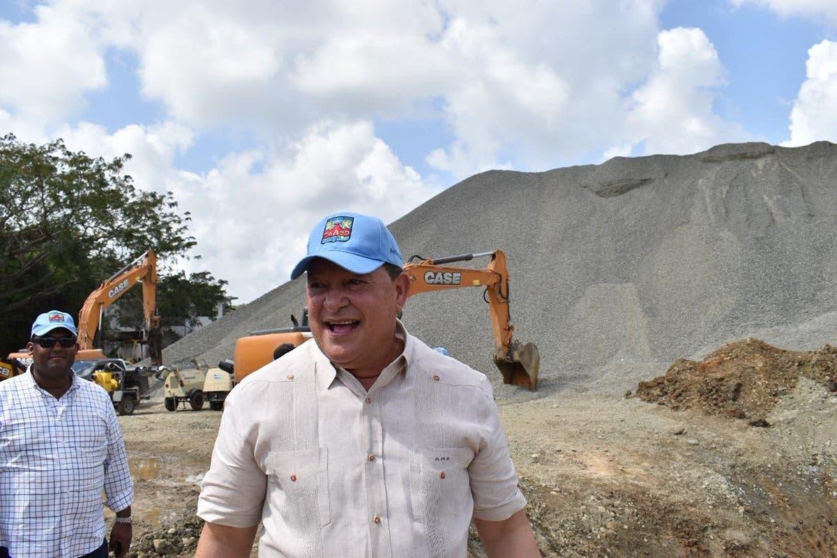 CAASD asegura que resolvió avería en tubería de acueducto Valdesia Santo Domingo