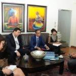 Comitiva de MEM presentó proyectos de cooperación técnica no reembolsable al Ministro de Agricultura