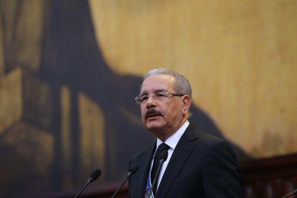 Este fue uno de los discursos más largos del presidente Danilo Medina