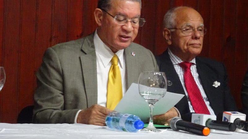 Wilson Gómez Ramírez y Manuel Rodríguez Grullón.