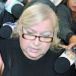 La madre de Villanueva, Chantal Ohnona, asistió a la audiencia