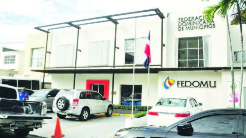 Sede de la Federación Dominicna de Municipios, en la zona Universitaria de Santo Domingo.