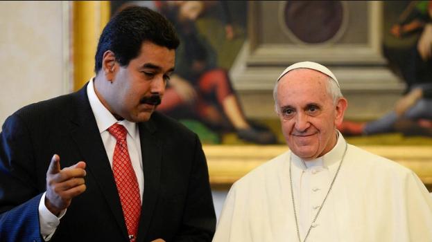 Papa dice a Nicolás  Maduro que incumplió acuerdos