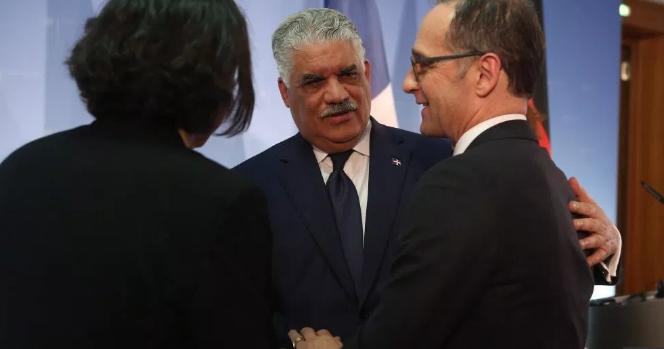Miguel Vargas busca en Berlín una profundización de las relaciones con Alemania