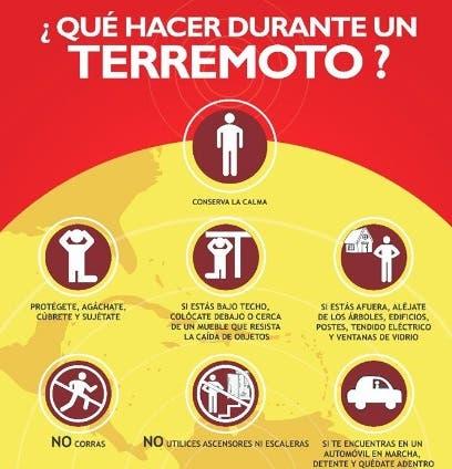 A propósito del temblor de hoy : ¿Qué hacer antes, durante y después de un terremoto?