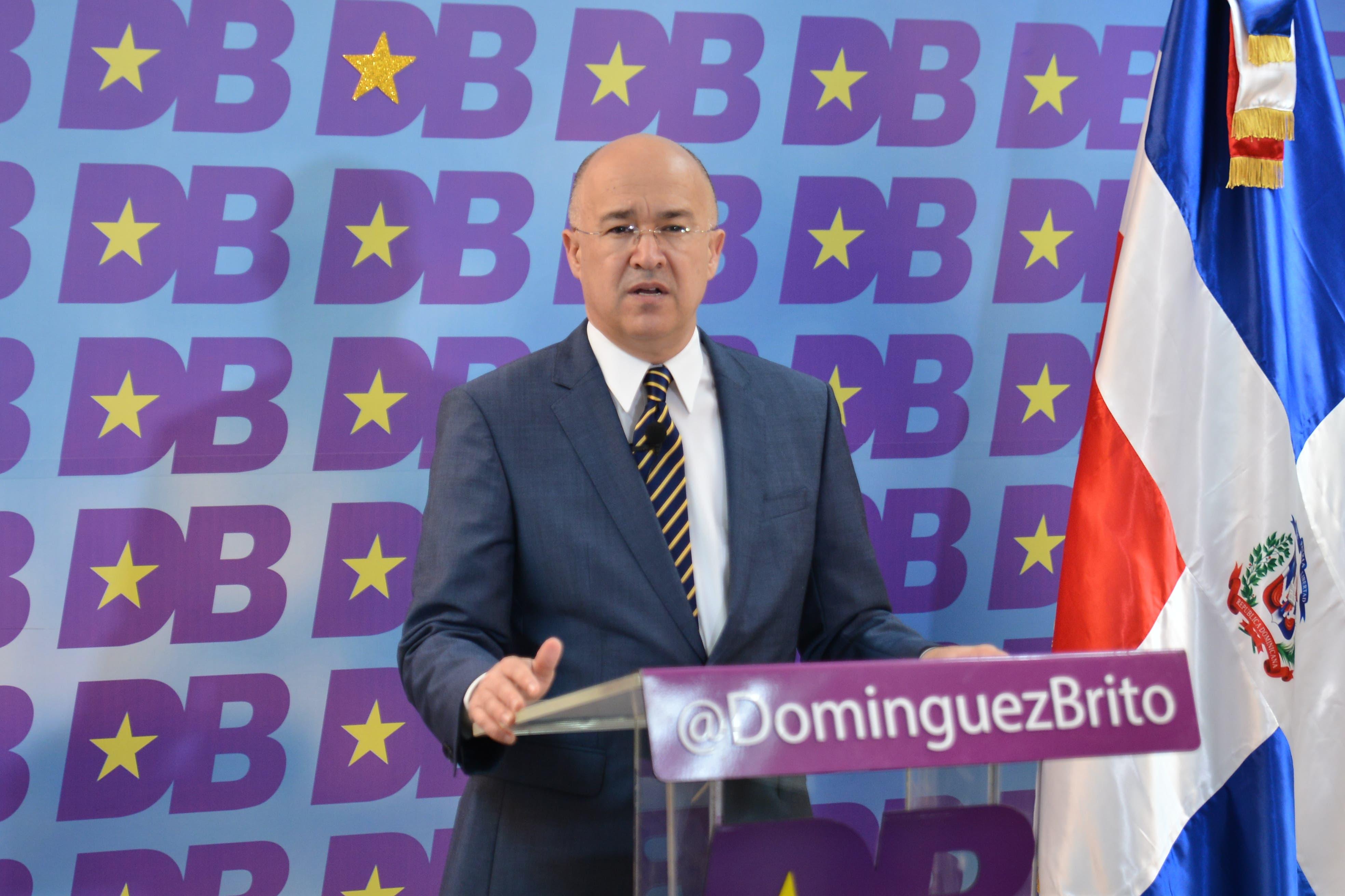 Domínguez Brito: urge designar Comisión Electoral para organizar Primarias PLD