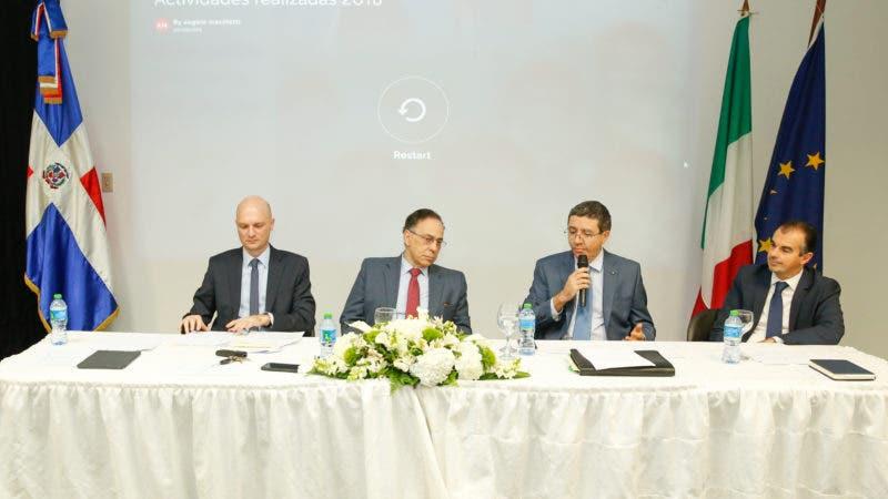 Elia Odoguardi, Celso Marranzini, Andrea Canepani Y Stefano Piacenza.