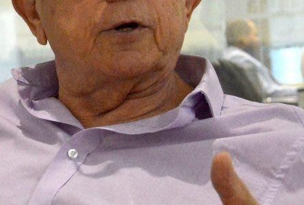 El Empresario Inversionista Carlos Romero realizó una visita al periódico Hoy, para poner una denuncia sobre una estafa de que fue victima. Hoy/ Napoleón Marte 28/03/2019