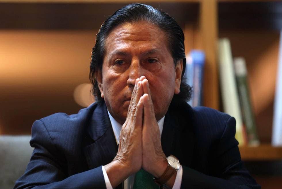 """Expresidente Toledo denuncia """"complot"""" tras arresto en EE.UU. que antes negó"""