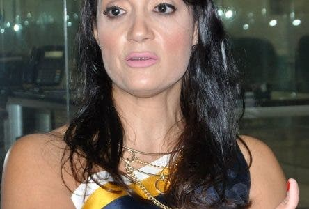 Entrevista en La Sede del Periódico Hoy, a Lory Troche, de CEO / founder, Innovación Centric . Hoy/ Arlenis Castillo/13/03/19.