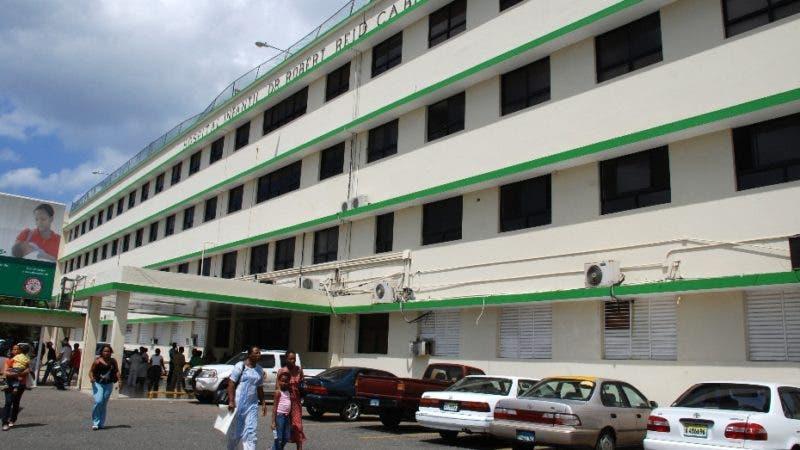 Fachada frontal del Hospital Infantil Dr. Robert Reid Cabral.   La Feria, Santo Domingo. El Nacional/ Archivo. 8-7-08.    Juan Faña.
