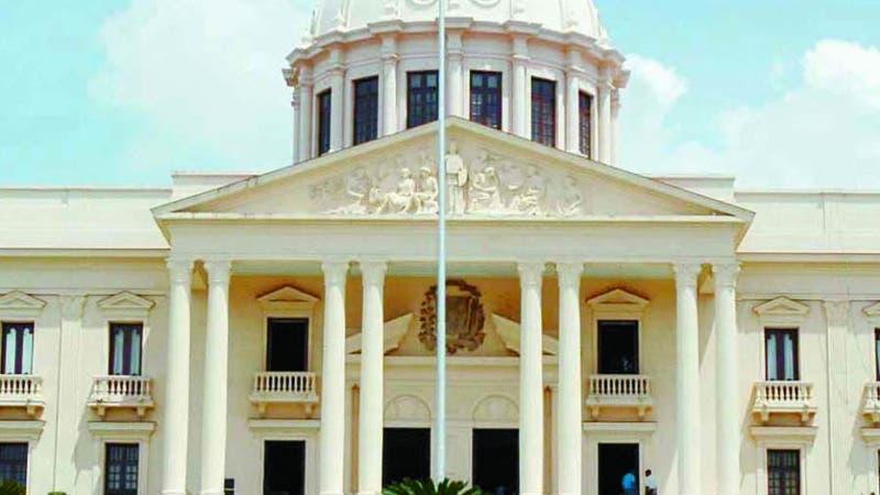 Fachada del Palacio Nacional Hoy/ Napoleón Marte. 10-8-2007