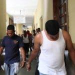 Presuntos atracadores de Las Praderas. Fuente externa 03/03/2019