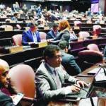 La Cámara de Diputados completó este martes la comisión bicameral que estudiará el proyecto de modificación sobre el recargo   por mora en los pagos al Sistema Dominicano de Seguridad Social (SDSS) y que fortalece la Tesorería de la Seguridad Social y la Dirección General de la Información y Defensa de los Afiliados.  Hoy/Fuente Externa 12/3/19