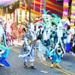 Carnaval de Sto. Dgo. En la foto: Compalsas participante.   Lugar: Malecon de Sto. Dgo. Fecha: 3-3-19 Fotoperiodista: José Andrés De los Santos. Periodista: Emilio Guzmán.