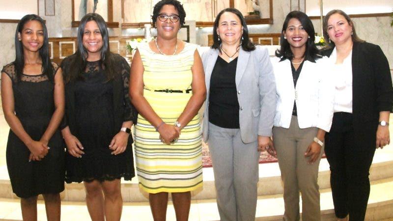 Rostros. ACS. Shawell Peña, Lisbel Sánchez, Daniela Cruz, Yosarah Fernández, Dilenny Evangelista y Sinthia Sánchez