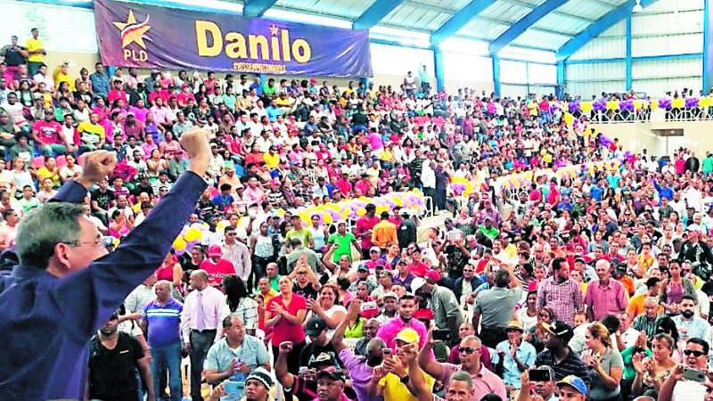 Nagua.- Dirigentes del PLD organizan actividad en favor del Pte.Danilo Medina. Hoy/Yluminada Perez 24/3/19