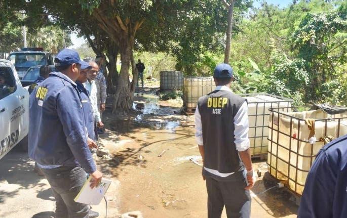 ASDE realiza operativo contra lavaderos improvisados de vehículos