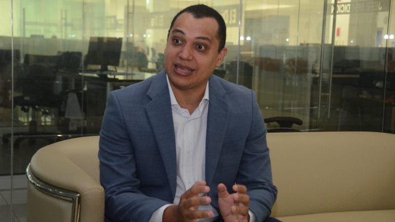 Anddy Cabrera, experto en Inteligencia Artificial.  HOY/ Ariel Gómez