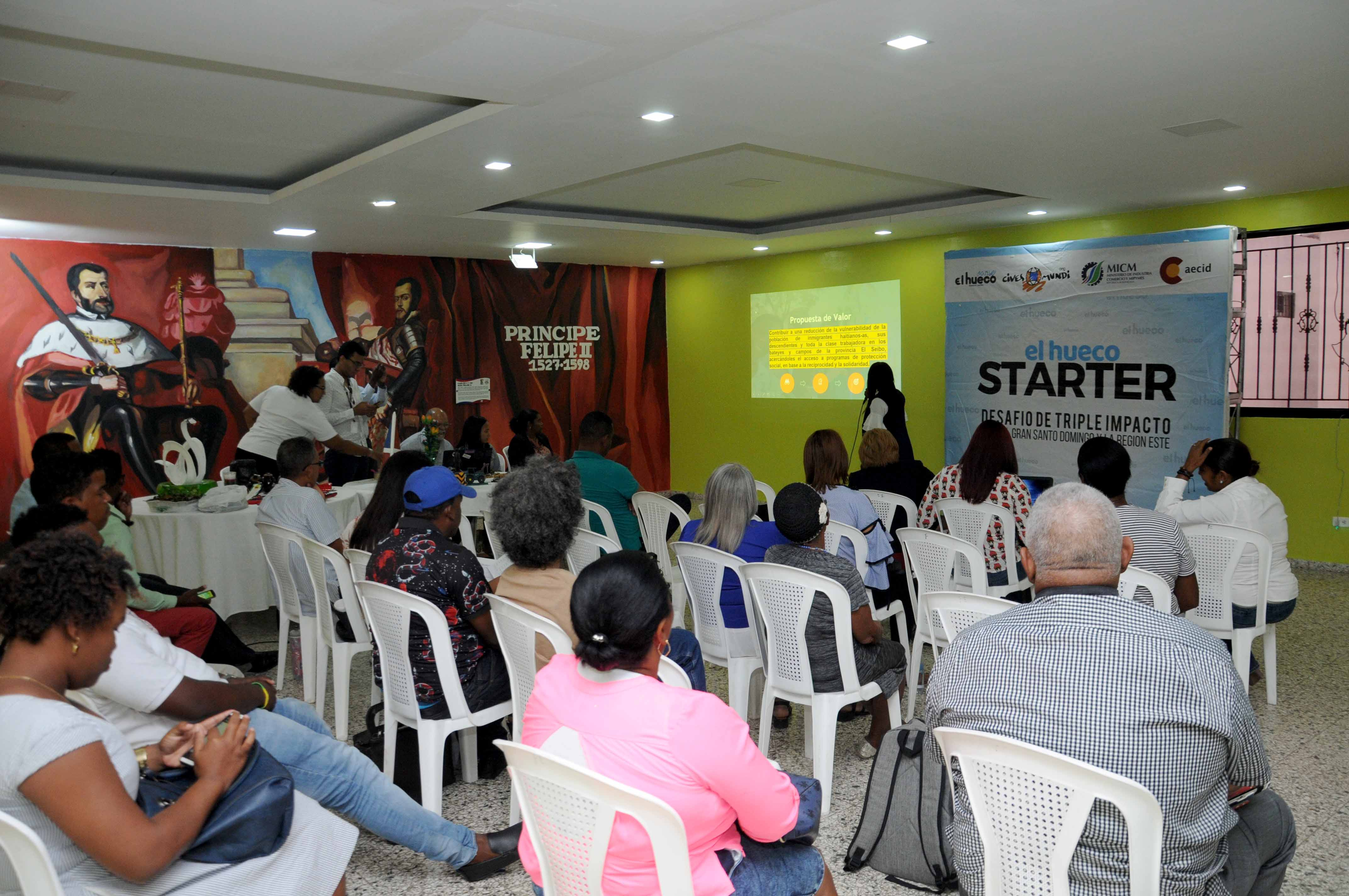MICM selecciona para incubación 35 emprendimientos sociales de SD y región Este