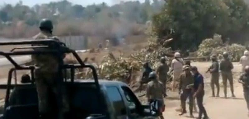 Enfrentamiento militares RD y haitianos