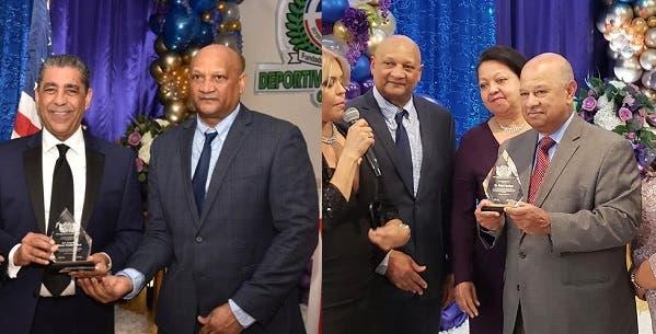 Escogen a Espaillat y Lantigua socios honoríficos Club Deportivo Dominicano NY