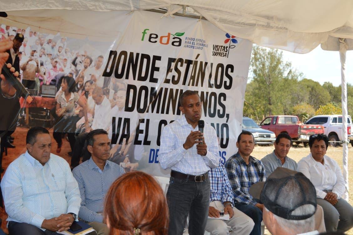 FEDA inicia ejecución de ayuda a ganaderos de La Noria, en La Romana