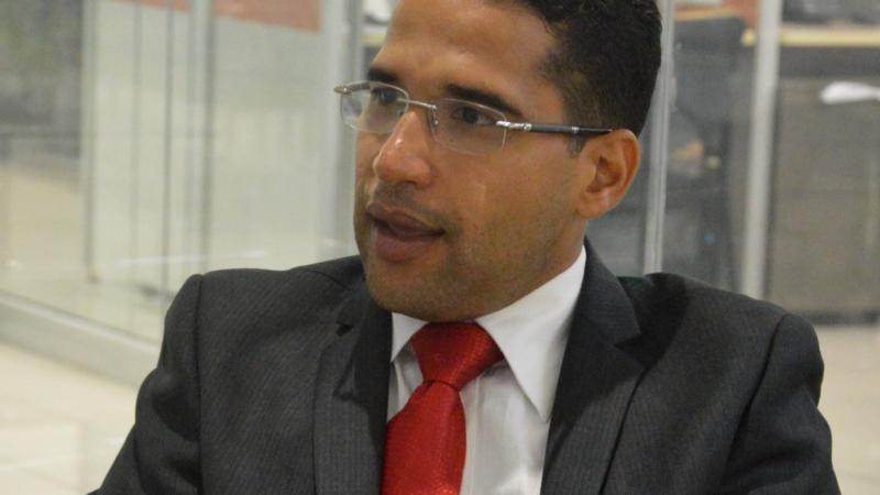 Álvaro José Caamaño Díaz.  Foto/ Napoleón Marte 20/03/2019