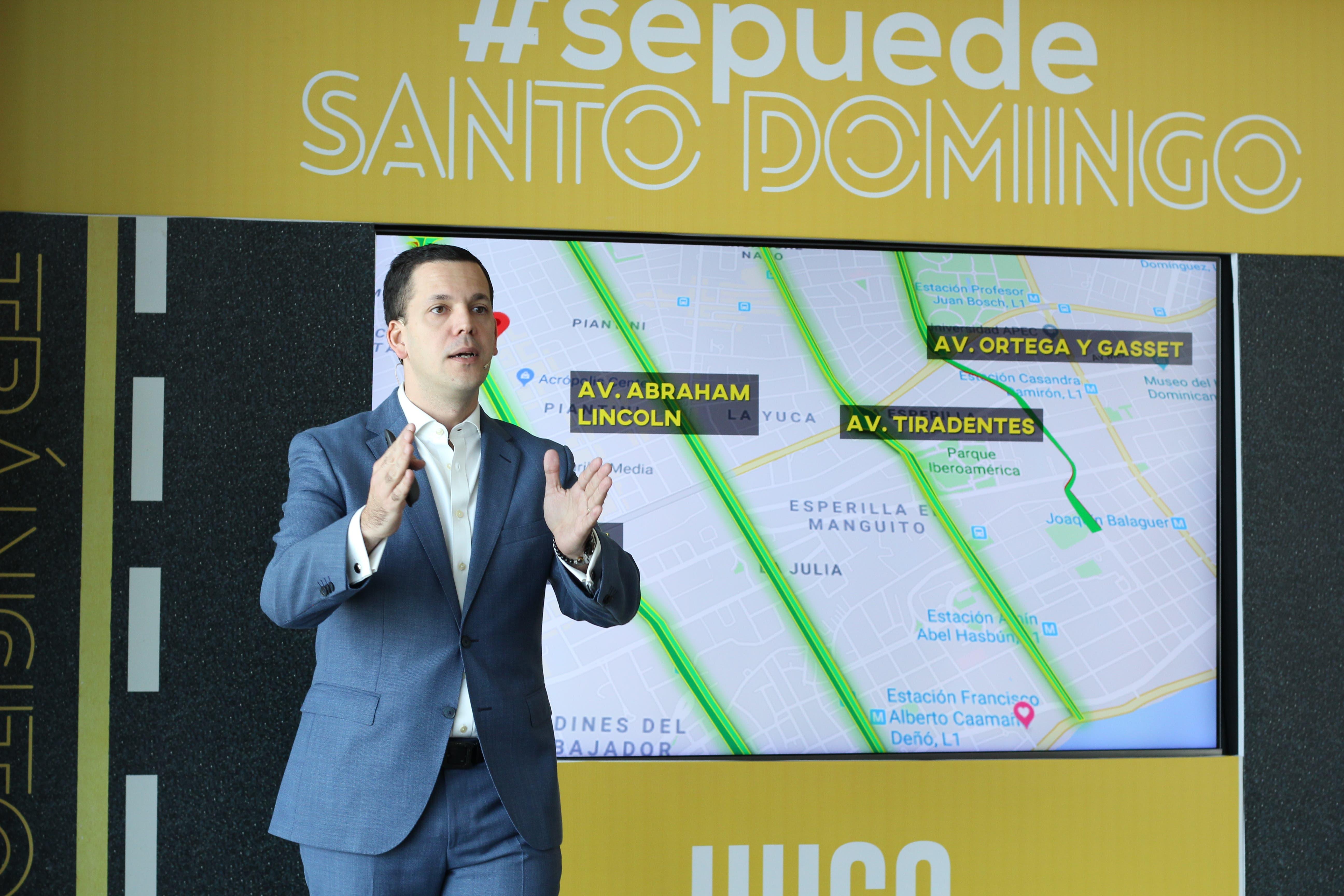 Hugo Beras presenta propuestas para solucionar los problemas del tránsito en la Capital