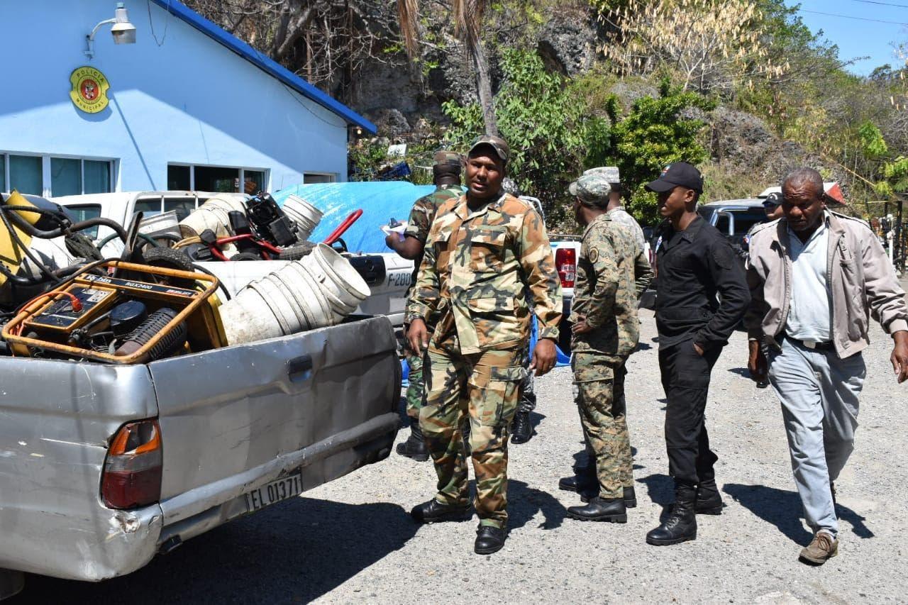Autoridades realizan operativo contra lavaderos clandestinos en medio de sequía