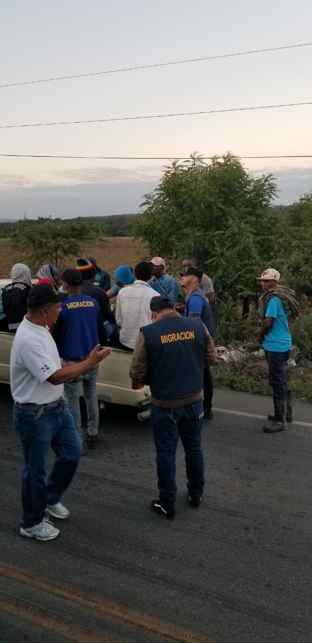 Arrestan 1,263 extranjeros  que residían de maner ilegal en el país en las últimas 48 horas