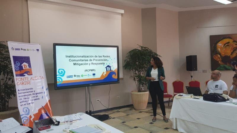 Jahnna Jiménez, Oficial de Protección proyecto Ponte Alerta Caribe