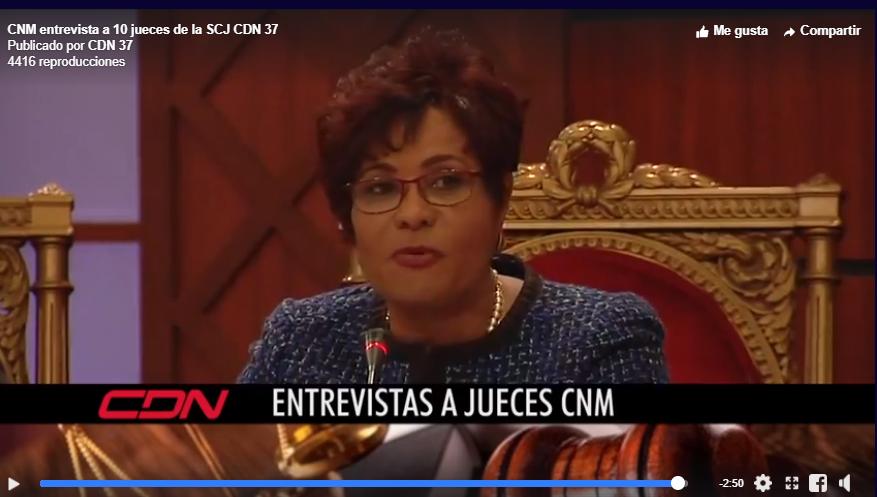 Diputada Josefa Castillo reprocha al Procurador por trato a jueza Germán Brito: «Por primera vez en la historia he visto tanta agresión irresponsable»
