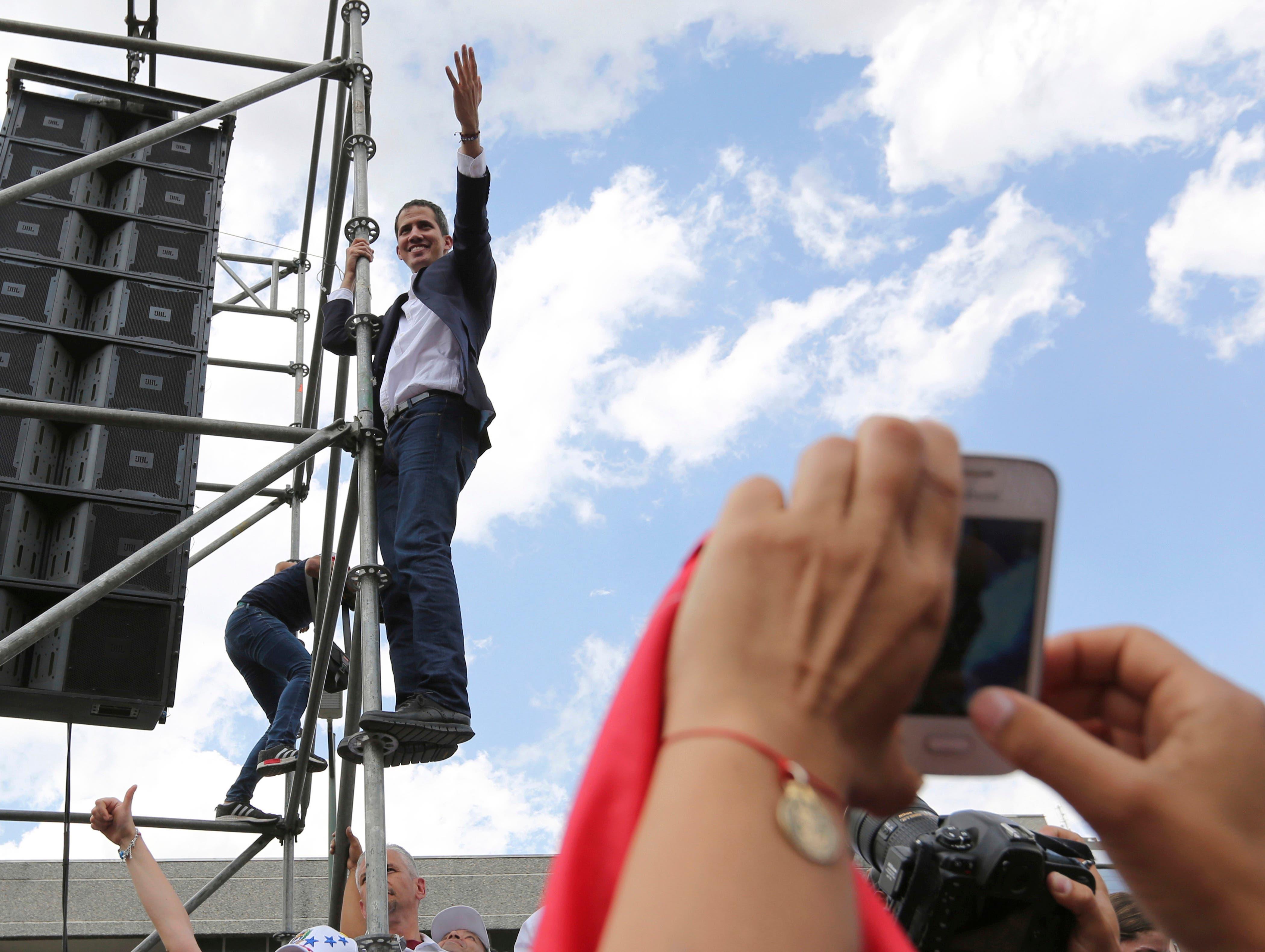 La advertencia de EEUU ante llegada de Guaidó a Venezuela