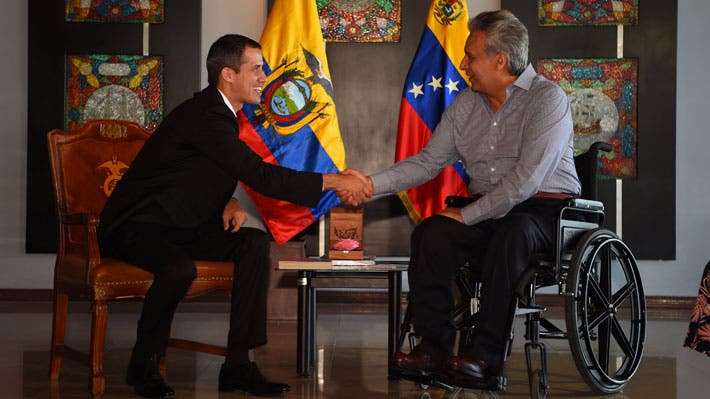Juan Guaidó anuncia regreso a Venezuela tras visitar Ecuador