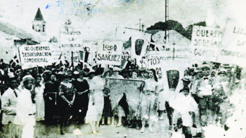 Las mujeres dominicanas ejercieron la ciudadanía moral