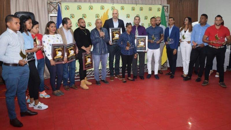 Los reconocidos por el Club San Carlos