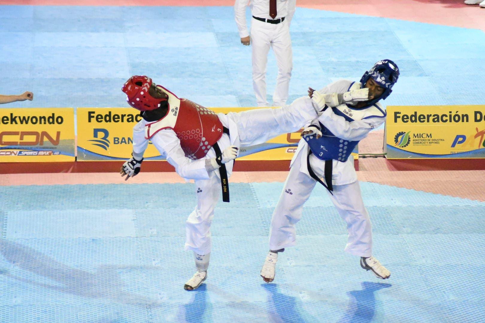 Luisito Pie se queda con la plata en el Abierto de taekwondo