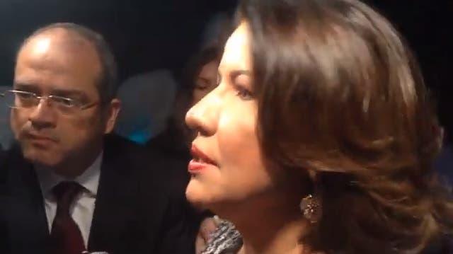 Video: Vicepresidenta sobre incidente Miriam Germán: «Yo también fui víctima de semejante canallada»