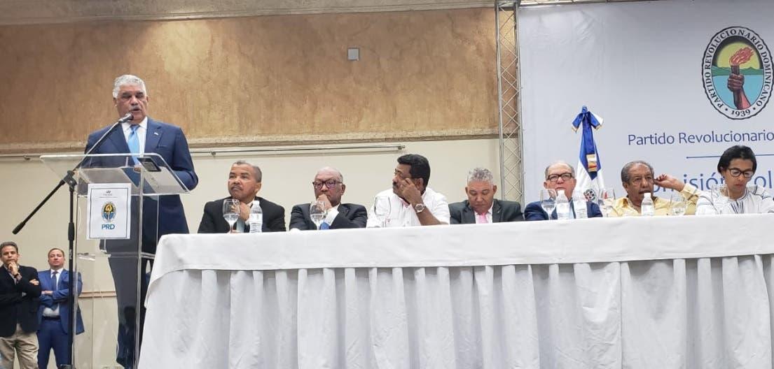 PRD decide no participar en primarias previstas para octubre