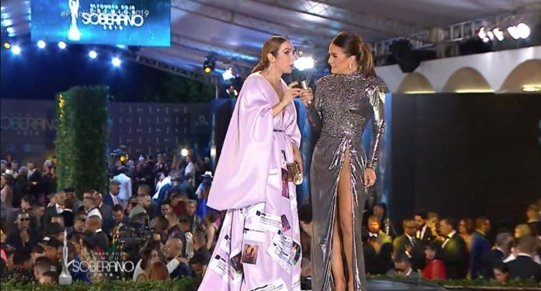 Miralba Ruiz en Premios Soberano: Esta vez las críticas impactaron mi vestido