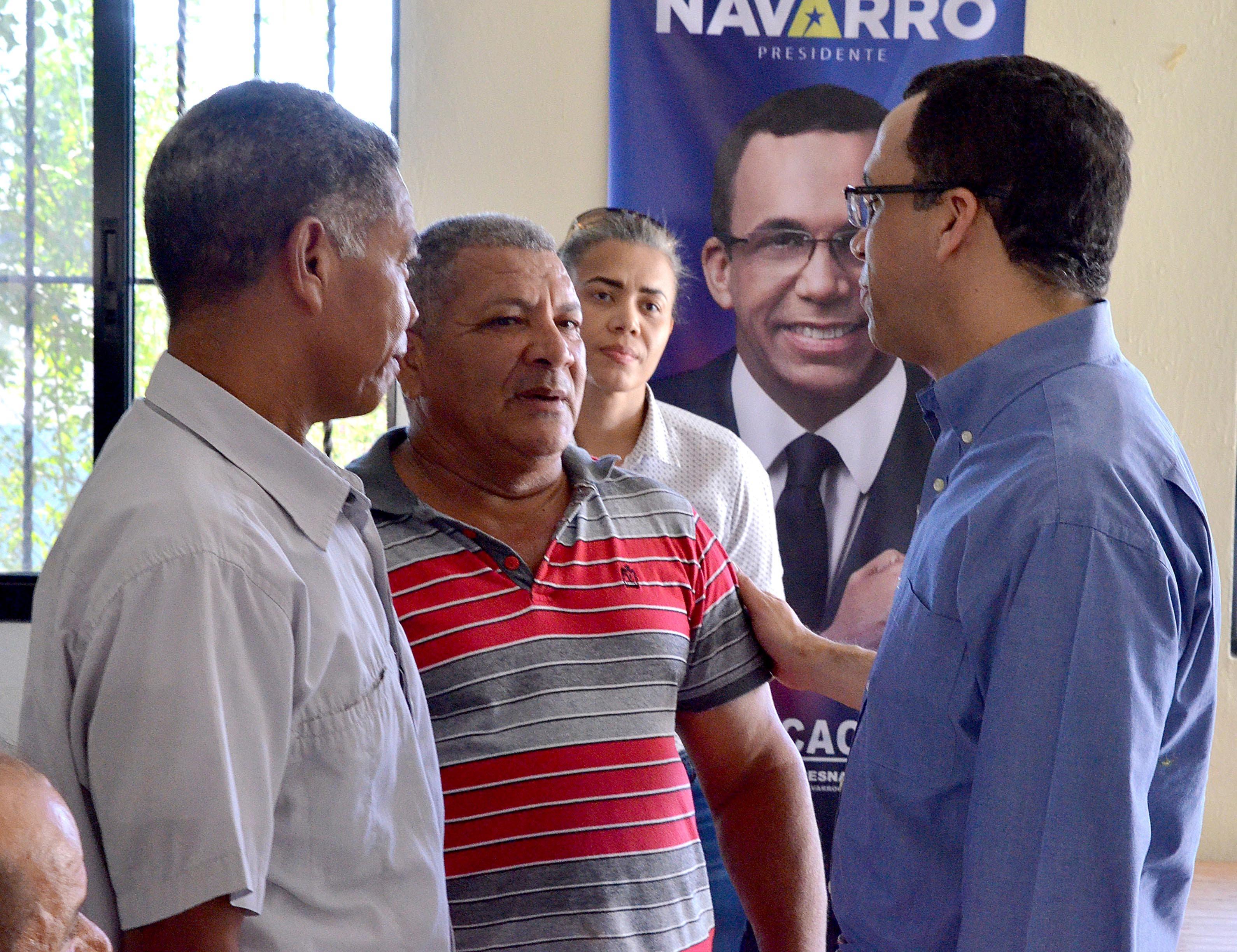 Andrés Navarro dice que conjugará el desarrollo agropecuario y rural