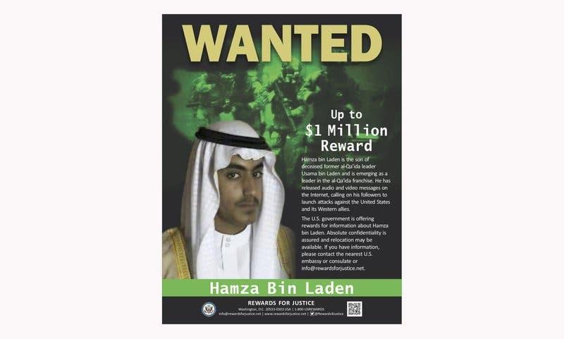 Arabia Saudí revoca ciudadanía a hijo de Osama bin Laden