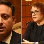 El procurador y Miriam Germán